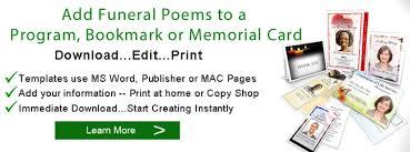 funeral poems memorial poem poems