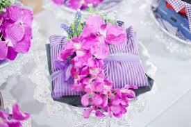 gubahan hantaran terkini bunga orkid