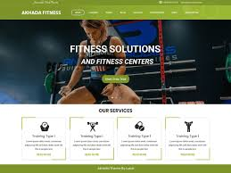akhada fitness gym wordpress theme