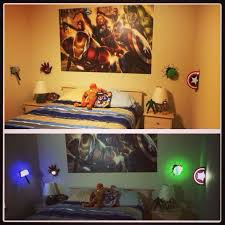 Pin By Giza On Avengers Themed Room Avengers Themed Bedroom Avengers Themed Room Superhero Room