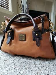 leather satchel bag purse brown t moro