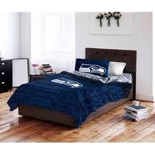 Nfl Seattle Seahawks Bed In A Bag Complete Bedding Set Walmart Com Walmart Com
