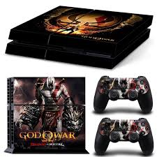 2018 New Cool Vinyl Custom Sticker Covers Skins Decal For Ps4 Playstation 4 Console Controller Protector Skins God Of War 4 Wish