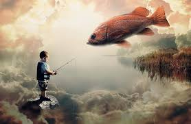 Image result for a brother and sister fishing