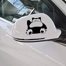 Amazon Com A Design World Snorlax Pokemon Vinyl Car Decal Custom Stickers Print Picture Photo Art Sticker Personalized Tuning Decals Window Bumper Door Color Selection Home Kitchen