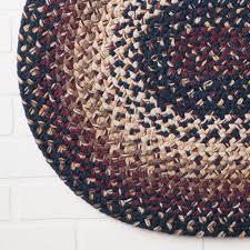 farmhouse 5x7 ft oval braided rug
