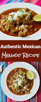 authentic mexican menudo recipe
