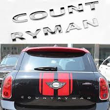 3d Metal Stickers Rear For Bmw Mini Cooper Accessories Mini Cooper R56 R60 Mini Countryman F60 R60 Emblem Car Stickers And Decals Wish