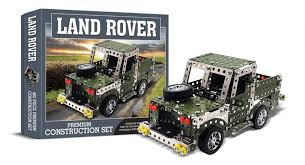 land rover construction set novelty