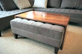 tray for ottoman coffee table