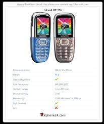 Alcatel OT 556 To your site :: Xphone24.com
