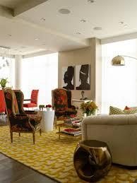 betty honey living room modern