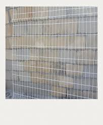 Steel Mesh Fence Panels Galvanized Customized Protect Equipment On Site