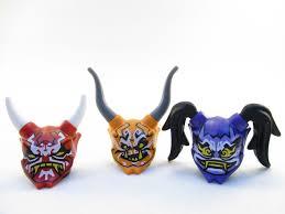 $9.99 - Lego Ninjago 3 Oni Minifigure Mask Of Deception Vengeance ...