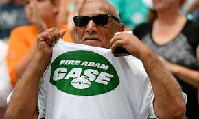 Fire Adam Gase chants break out after Jets lose to Dolphins