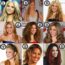 shakira her best hair makeup and