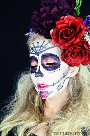 5 diy sugar skull makeup tutorials for