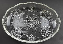 mikasa crystal snowflake pattern