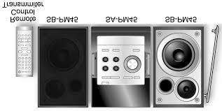sa pm45pc cd stereo system