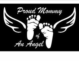 Proud Mommy Daddy Of An Angel Car Window Laptop Vinyl Decal Sticker Customize Ebay