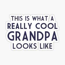 Grandfather Stickers Redbubble