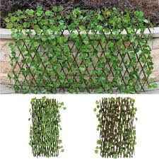 Expandable Artificial Ivy Leaf Fence Decor Privacy Screen Patio Yard Garden Wish