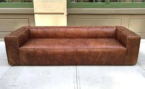weathered leather couch l id f