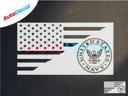 Us Navy Usa American Flag Car Window Vinyl Decal Sticker Military Proud 442 Ebay