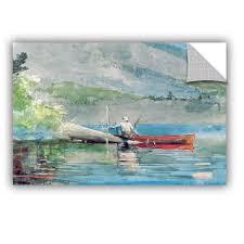 Artwall Winslow Homer The Red Canoe 1884 Removable Wall Decal Wayfair