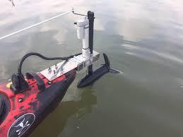 adding a trolling motor to your kayak