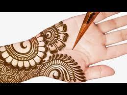 Right Hand New Arabic Mehndi Design 2019