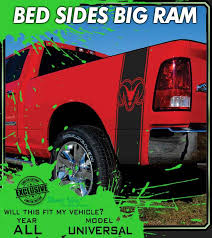 Truck Decals Custom Graphics For Muscle Cars Elite Limit