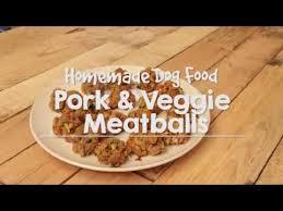 homemade allergy dog food pork