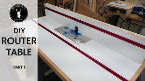 Router Table And Fence Diy Router Table Build Part 1 Youtube