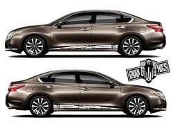 Nissan Altima Graphics Kit Altima Sticker Altima Decals Altima Decals