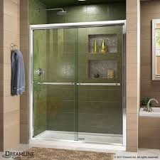 duet bypass sliding shower door dreamline