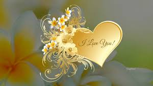 i love you screensaver or wallpaper on