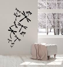Vinyl Wall Decal Dragonfly Patterns Beautiful Insects Splendor Of Natu Wallstickers4you