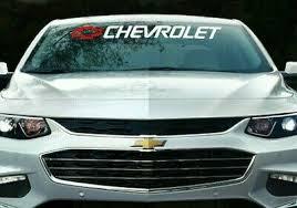 Chevy Malibu Vinyl Decal Window Sticker Chevrolet Letters Ebay