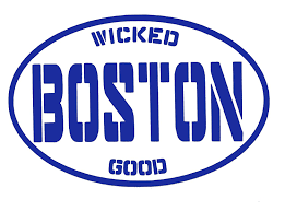 Amazon Com Custom Boston Vinyl Decal Personalized Wicked Good Boston Bumper Sticker For Laptops Or Car Windows Pick Size And Color Handmade