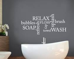 Bathroom Wall Stickers In Decors