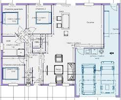 plan maison 100m2 tunisie meilleure
