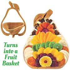 dried fruit gift basket healthy