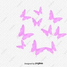 الفراشة الوردية خلفية شفافة زهري شفاف فراشة Png والمتجهات