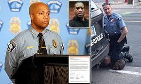 Minneapolis cops condemn Derek Chauvin after plan to disband department due  to George Floyd's death | Daily Mail Online