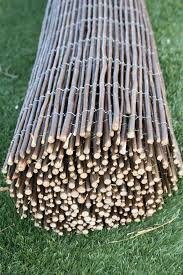 Willow Fencing 6ft H X 16 Ft L Willow Fence Panels Fence Willow Fence