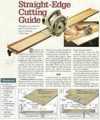 Diy Circular Saw Guide Woodarchivist