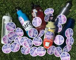 Stickers Free For Your Water Bottle Belfast Flying Shoes