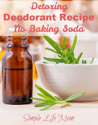 detoxing deodorant recipe without
