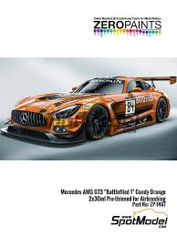 Zero Paints Paints Set For Airbrush Mercedes Benz Amg Gt3 Candy Orange Sponsored By Battlefield 1 2 X 30ml For Sk Decals Reference Sk 24077 Or Tamiya References Tam24345 And Tam24350 Ref Zp 1467 Spotmodel